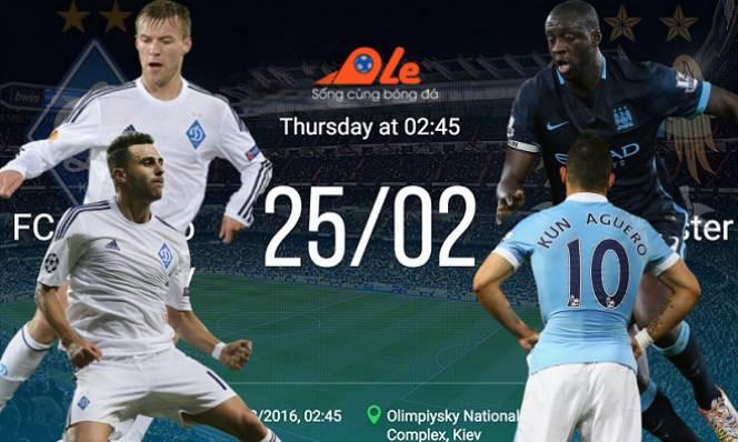 Dynamo Kyiv - Man city