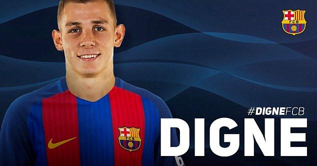 Hàng thủ của Barca tiếp tục được gia cố thêm sự chắc chắn