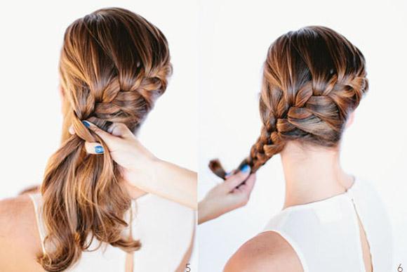 tết tóc đẹp đơn giản