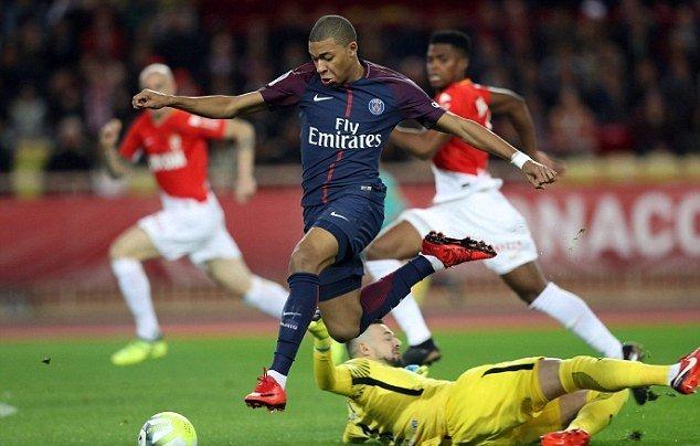 Monaco nhận thất bại toàn diễn trước PSG