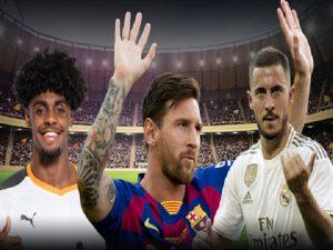 Messi và những ngôi sao chưa ra sân tại La Liga 2019/20