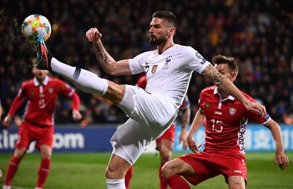 Nhận định Moldova vs Pháp thứ 6 ngày 15-11-2019