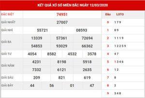 Soi cầu XSMB ngày 13/3/2020 - Dự đoán KQXS VIP miền Bắc