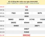 Bảng KQXSDN- Dự đoán xổ số đồng nai ngày 06/05 chuẩn xác