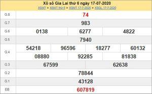 Dự đoán XSGL 24/7/2020 chốt KQXS Gia Lai thứ 6