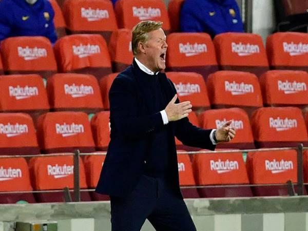 Tin thể thao 6/4: HLV Koeman vẫn chưa hài lòng dù Barca thắng trận