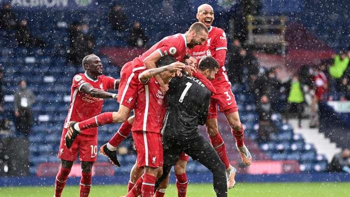 Alisson ghi bàn thắng cho Liverpool vào phút cuối để nuôi hy vọng giành vé dự Champions League