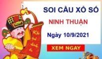 Soi cầu XSNT ngày 10/9/2021