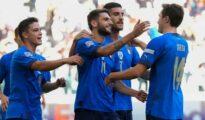 KQBD Ý 2-1 Bỉ: Pha lập công như sấm sét của Nicolo Barella